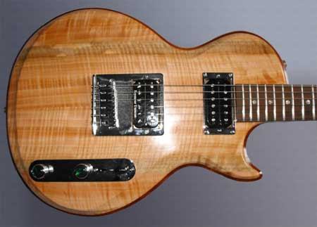 Custom Electric Guitar by Alan Arnold Guitars