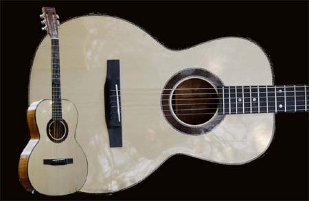 Example of Phaedra acoustic guitar